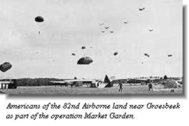 Airborne operation in Holland